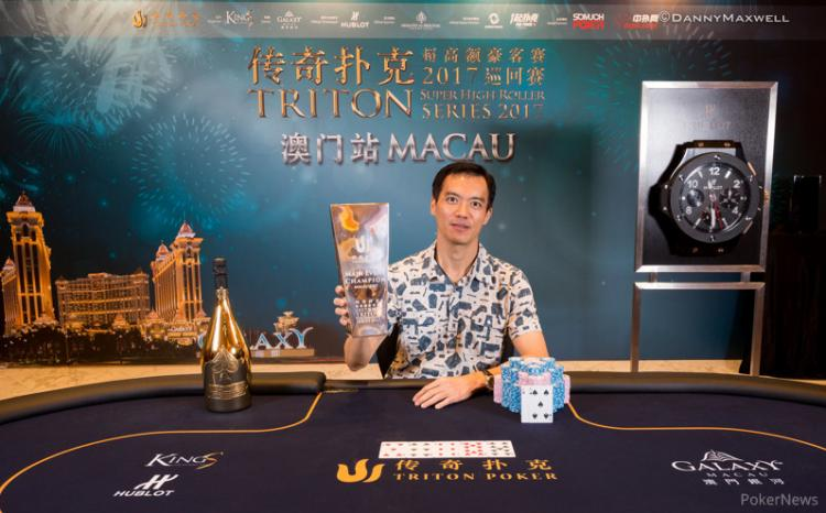John Juanda crava Main Event da Triton Super High Roller Series Macau/CardPlayer.com.br