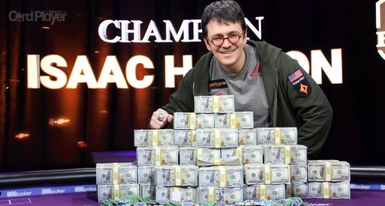 Isaac Haxton vence Super High Roller Bowl V e leva US$ 3,6 milhões/CardPlayer.com.br