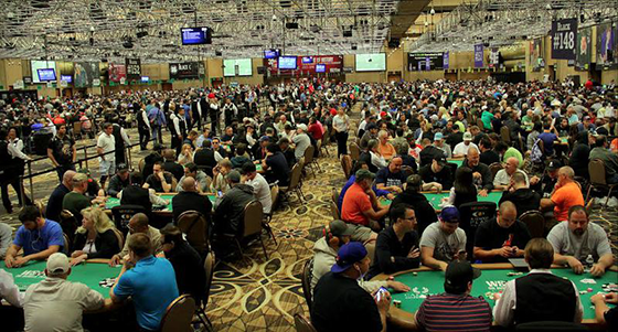 The Colossus da WSOP registra o field recorde de 22.374 entradas/CardPlayer.com.br