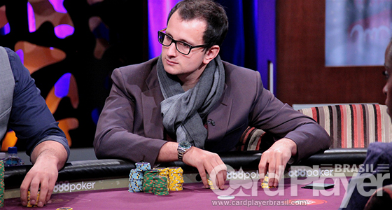 Rainer Kempe puxa a fila na FT do Super High Roller Bowl/CardPlayer.com.br