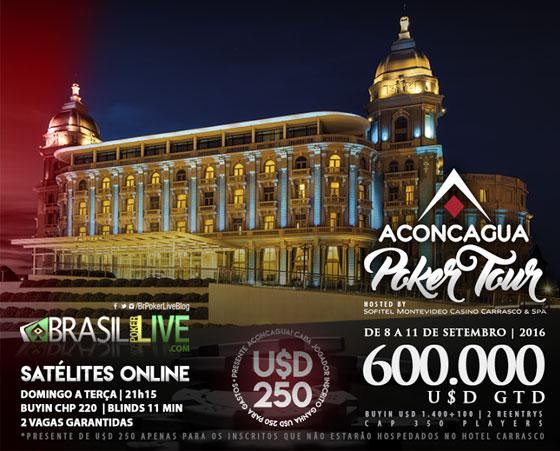 Montevidéu vai receber a primeira etapa do Aconcagua Poker Tour/CardPlayer.com.br