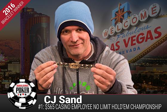 Christopher Sand conquista o primeiro bracelete da WSOP 2016/CardPlayer.com.br