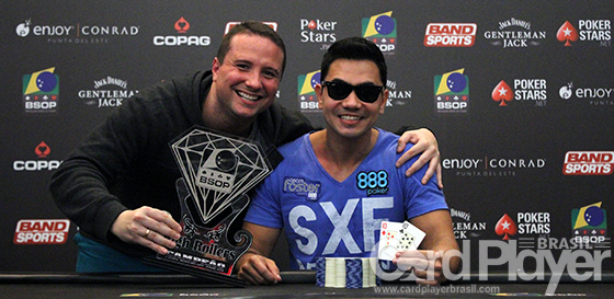 Bruno Aguiar crava High Roller e fatura o maior prêmio do Brasil no BSOP Punta del Este/CardPlayer.com.br