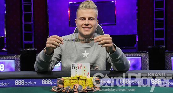 Jens Kyllönen leva a melhor no High Roller de PLO da WSOP 2016/CardPlayer.com.br