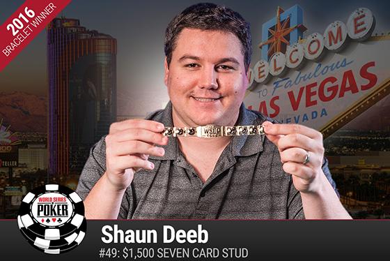 Shaun Deeb conquista o título do Evento 49 da WSOP 2016/CardPlayer.com.br