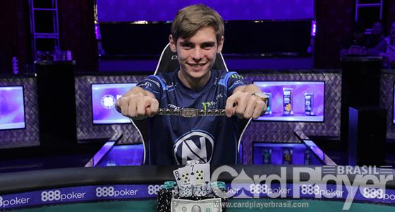 Fedor Holz crava High Roller for One Drop da WSOP e fatura R$ 16 milhões/CardPlayer.com.br