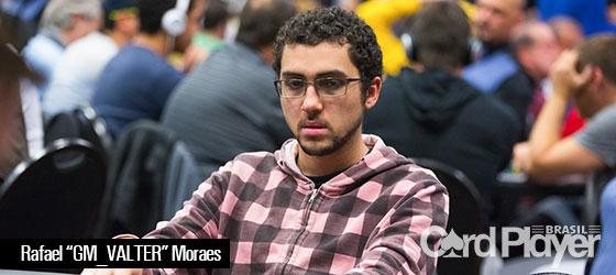 Rafael Moraes lidera quarteto brasileiro no Main Event da WSOP 2016/CardPlayer.com.br