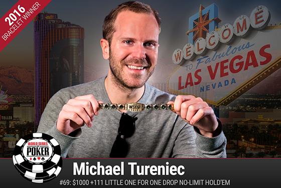 Michael Tureniec vence o Little One for One Drop da WSOP/CardPlayer.com.br