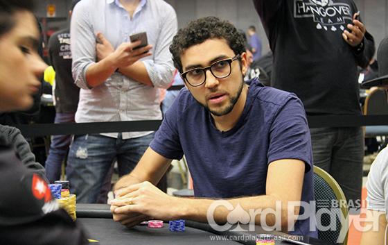Rafael Moraes puxa a fila na decisão do High Roller do BSOP São Paulo/CardPlayer.com.br