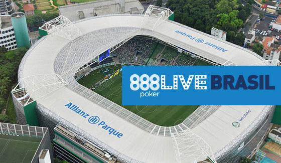 Participe dos últimos satélites online do 888Live Brasil Allianz Parque/CardPlayer.com.br