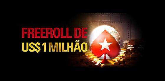 PokerStars anuncia novo freeroll de US$ 1 milhão/CardPlayer.com.br