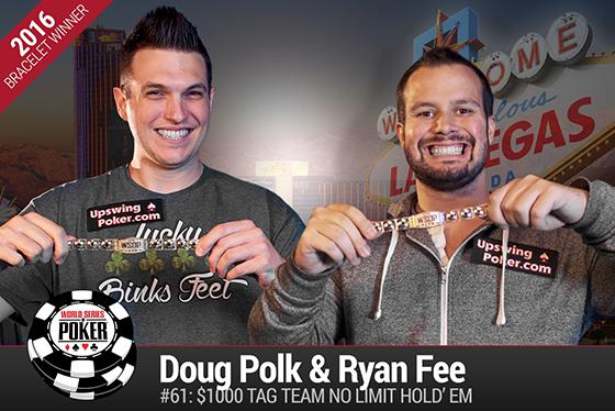 Doug Polk e Ryan Fee vencem torneio de equipes da WSOP 2016/CardPlayer.com.br