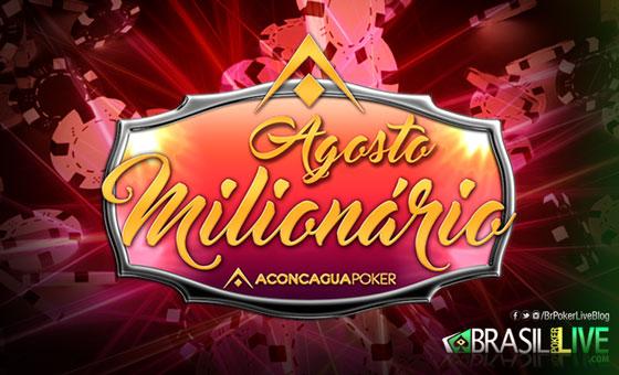 """Brasileiro """"CECEUMPA"""" é vice do Agosto Milionário do Aconcagua Poker/CardPlayer.com.br"""