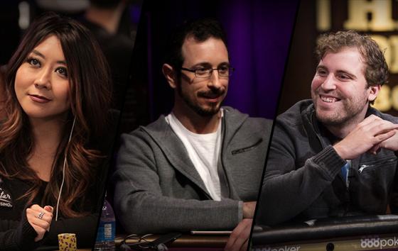 Maria Ho, Brian Rast e Tom Marchese são os novos embaixadores da Poker Central/CardPlayer.com.br