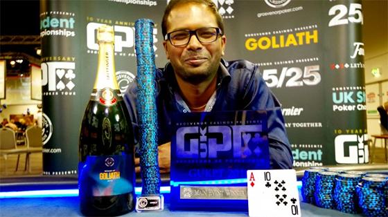 Grosvenor Poker Tour quebra próprio recorde de maior torneio realizado fora de Las Vegas/CardPlayer.com.br