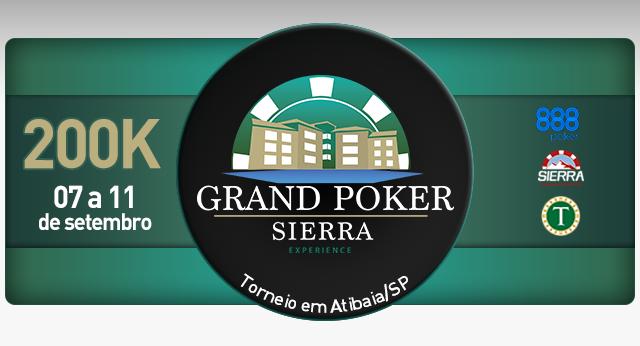 Grand Poker Sierra Experience chega ao Tauá Atibaia/CardPlayer.com.br