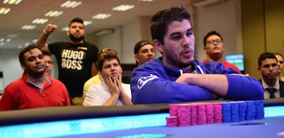 Victor Teixeira assume a liderança do BSOP Natal/CardPlayer.com.br