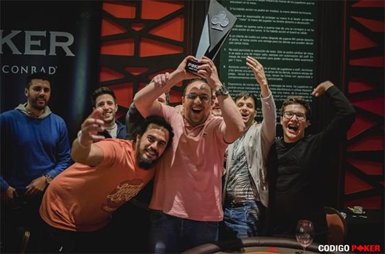 Vinicius Ganso crava etapa do Conrad Poker Tour/CardPlayer.com.br