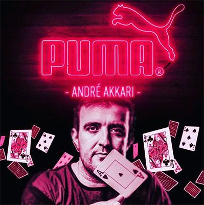 André Akkari assina com a Puma/CardPlayer.com.br