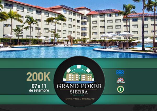 Após dois dias iniciais, premiação do Grand Poker Sierra Atibaia fica distante do garantido/CardPlayer.com.br