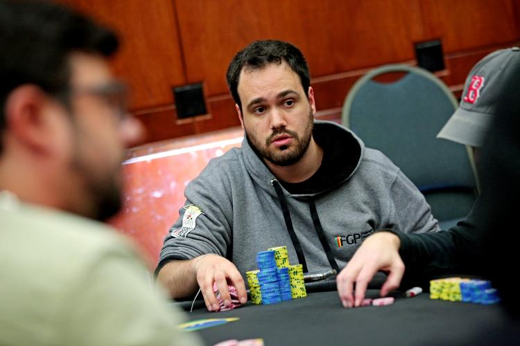 """Bernardo """"bedias"""" Dias é vice do Sunday Kickoff/CardPlayer.com.br"""