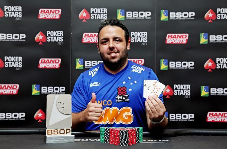 """Guilherme """"Pelckito"""" Castro crava Bounty Builder $215/CardPlayer.com.br"""