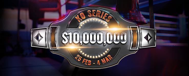 KO Series do partypoker tem premiação garantida de US$ 10 milhões/CardPlayer.com.br