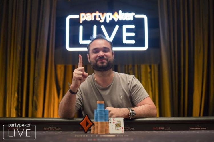 Ariel Bahia vence Evento 3 do partypoker MILLIONS Rio/CardPlayer.com.br