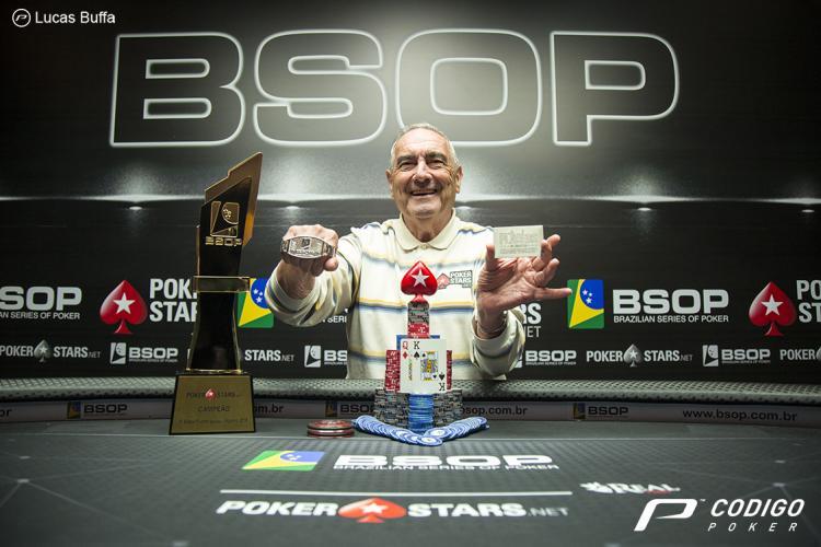 Argentino Hilario Quijada é campeão do BSOP Iguazu/CardPlayer.com.br