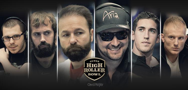 Daniel Negreanu e Phil Hellmuth vão participar do Super High Roller Bowl/CardPlayer.com.br