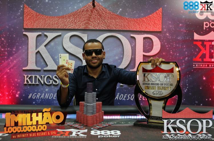 Wender Oliveira crava a primeira etapa do KSOP 2017/CardPlayer.com.br
