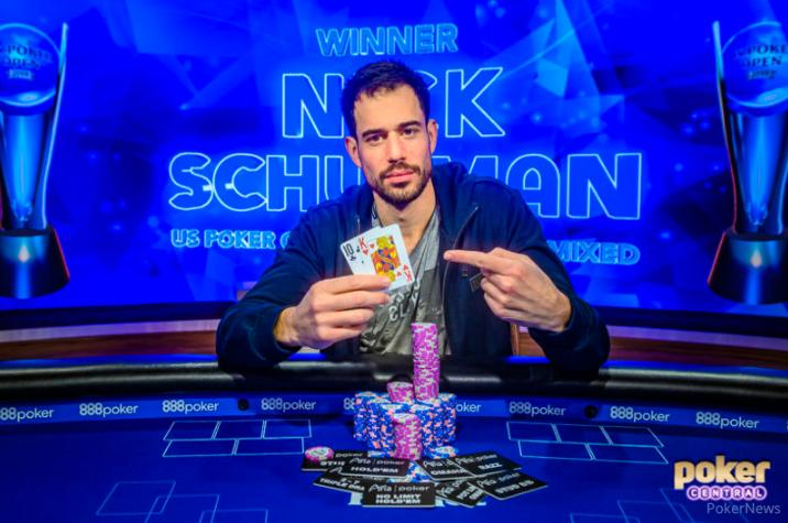 Nick Schulman é campeão do 8-Game Mix do U.S. Poker Open/CardPlayer.com.br