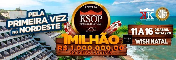 Conheça um pouco mais sobre a grade de torneios do KSOP Natal/CardPlayer.com.br
