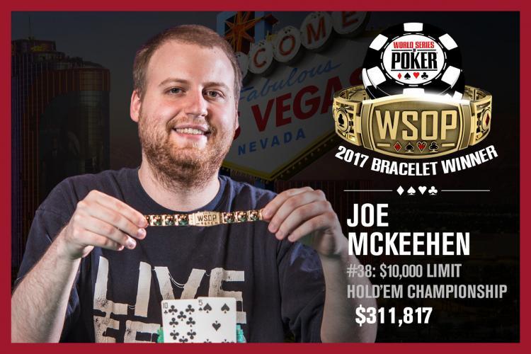 Joe McKeehen crava Evento 38 da WSOP/CardPlayer.com.br