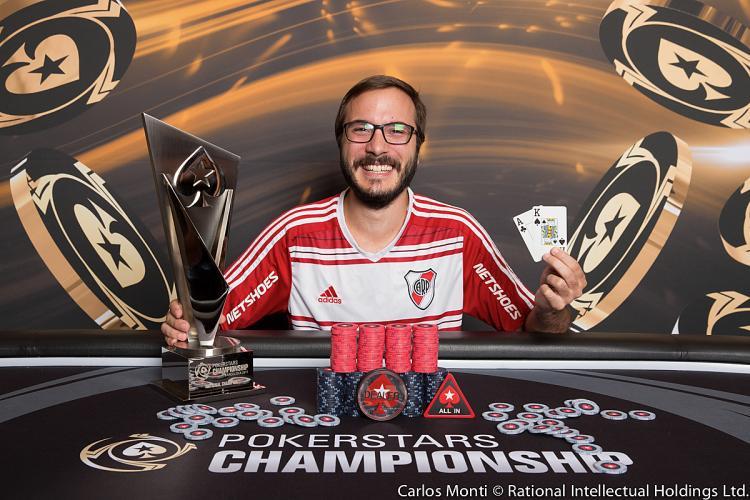 Argentino Pedro Cairat vence o PokerStars National Barcelona/CardPlayer.com.br