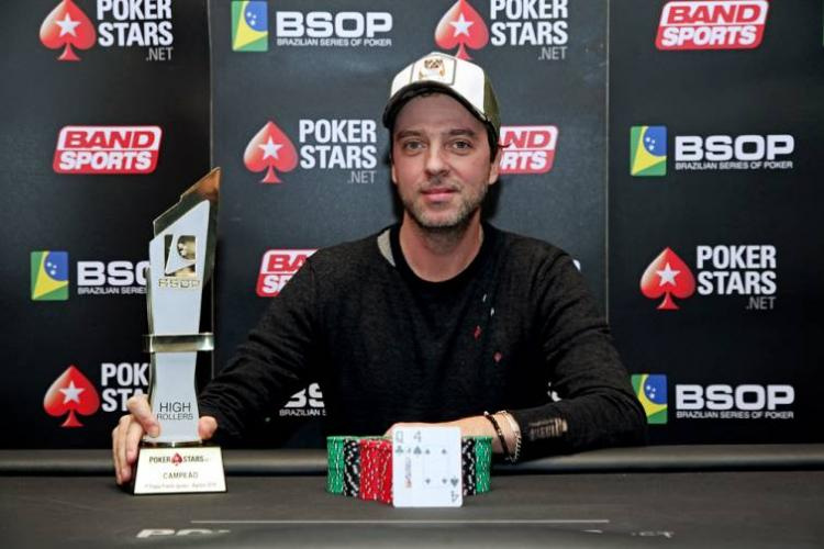 Mario López crava High Roller do BSOP Iguazu/CardPlayer.com.br
