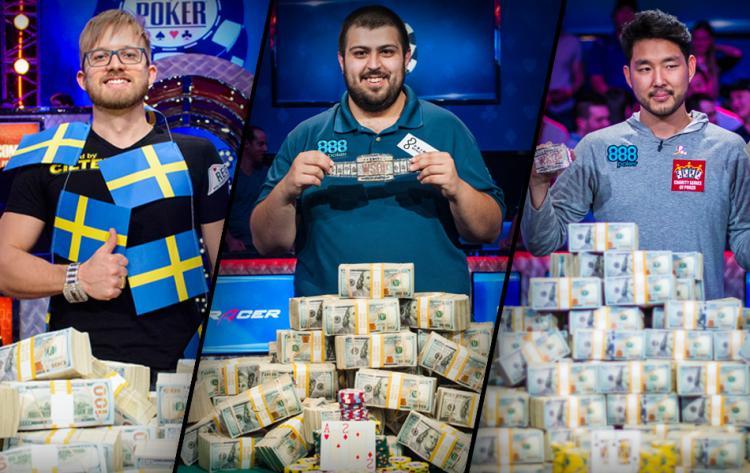 Campeões mundiais confirmam presença no 888poker LIVE Londres/CardPlayer.com.br