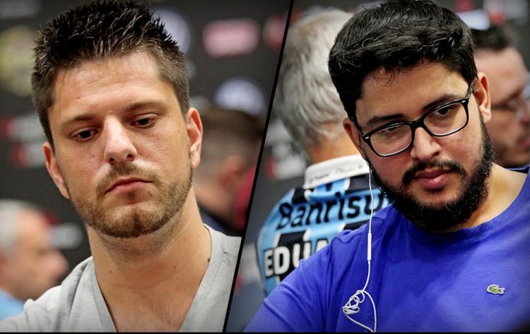 Luiz Duarte e Fernando Viana fazem dobradinha no Fat Thursday/CardPlayer.com.br