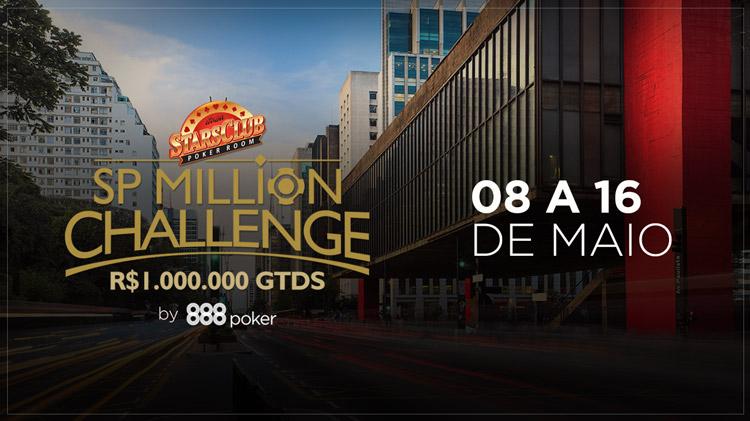 SP Million terá satélites e steps no 888poker /CardPlayer.com.br