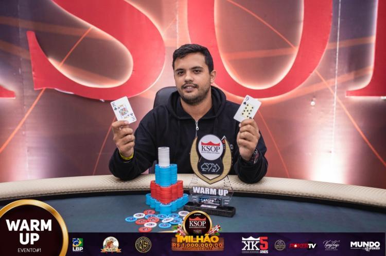 Henrique José puxa a fila no ranking geral e de PLO do KSOP/CardPlayer.com.br