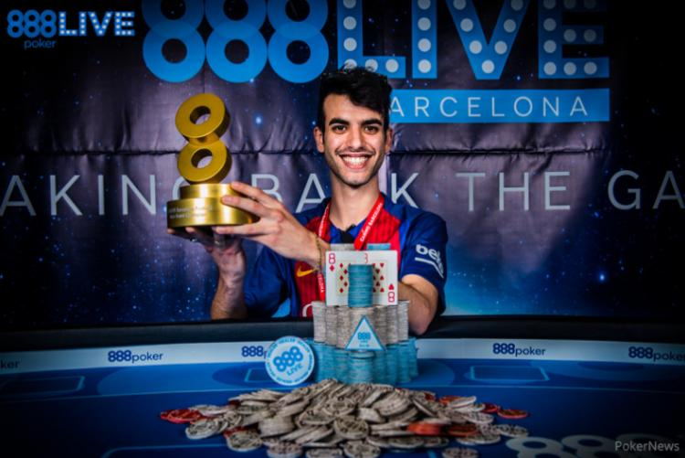 Luigi Shehadeh vence o 888Live Barcelona/CardPlayer.com.br