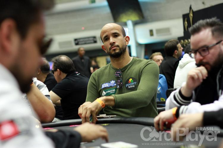 "Alexandre ""Cavalito"" Mantovani sobe ao pódio do Wednesday High Roller/CardPlayer.com.br"