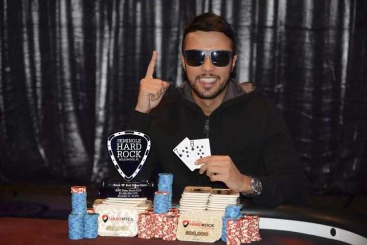 Rafael Reis fatura US$ 155 mil no maior torneio da história do Seminole Hard Rock Poker Open/CardPlayer.com.br