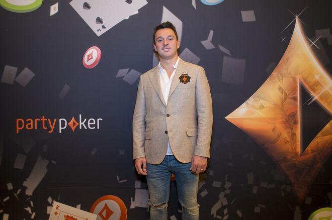Sam Trickett é o novo embaixador do PartyPoker/CardPlayer.com.br