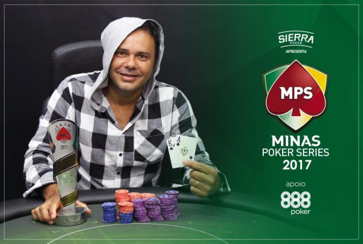 Mauricio Ferreira crava a segunda etapa da Minas Poker Series/CardPlayer.com.br
