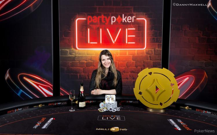 Maria Lampropulos leva a melhor no partypoker Millions/CardPlayer.com.br