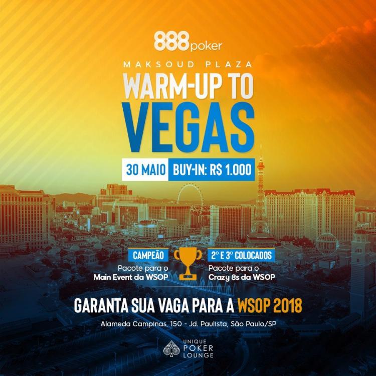Warm-Up do Vegas começa na próxima semana/CardPlayer.com.br