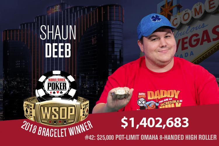 Shaun Deeb é campeão do High Roller de PL Omaha da WSOP/CardPlayer.com.br