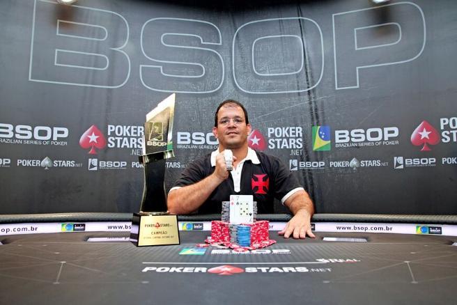 """Gustavo """"Vascão"""" Lopes crava o BSOP Curitiba/CardPlayer.com.br"""