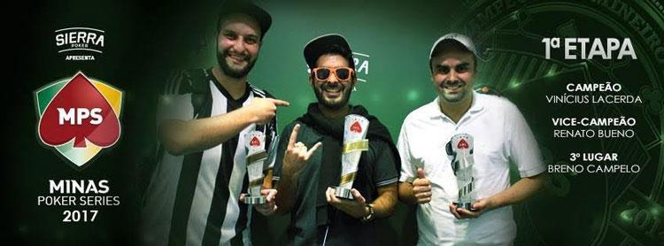Vinicius Lacerda vence primeiro Main Event do MPS e leva mais de R$ 30 mil/CardPlayer.com.br
